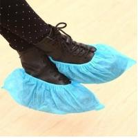 Wholesale Non-woven disposable shoe cover,30gsm ,16*40cm,blue from china suppliers