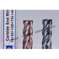 Wholesale HRC55  TiSiN Coating , Carbide End Mill , 4 Flute , Certizit  WF25 , Milling Cutters from china suppliers