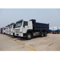 Wholesale SINOTRUK HOWO 6X4 Dump Truck 18m³   Installed With HYVA Brand  Lifting With High Lifting Capacity from china suppliers