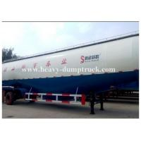 Wholesale Customized v type dry bulk cement trailer with 3 axles 45cbm capacity with warranty from china suppliers