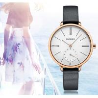 Wholesale Wholesale Retail Fashion Women Minimalist Genuine Leather Stainless Steel Quartz Wrist Watches  C6135 from china suppliers