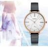 Buy cheap Wholesale Retail Fashion Women Minimalist Genuine Leather Stainless Steel Quartz Wrist Watches  C6135 from wholesalers