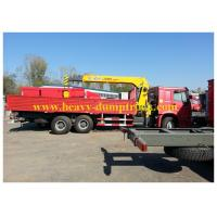 Wholesale Heavy Duty Cranes  Sinotruk howo 6X4 290hp Euro II Emission HLQ5252GXF from china suppliers