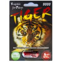 Wholesale 3D Tiger Platinum 9000 Herbal Male Libido Enhancement Pills / Sex Libido Enhancer from china suppliers