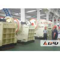 Wholesale Hard Rock Mine Crushing Equipment , PEV Series High Efficiency Stone Jaw Crusher from china suppliers