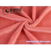 Wholesale Warm woven mirco velvet/ poly spun velour for undergarment and apparel fabric from china suppliers