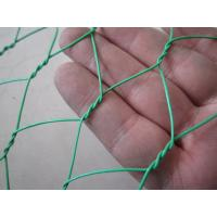 Wholesale Green Carbon Steel Chicken Wire Mesh Fencing protecting yard 25mm with 20 gauge wire from china suppliers