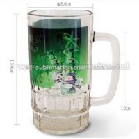 22oz Glass Beer Mug_Sublimation Mug