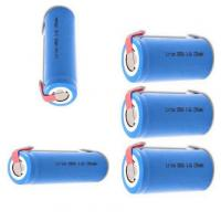 Wholesale 18650 3.7V Security Alarm Batteries Pack 1300mah For Alarm System , CE UL Approved from china suppliers