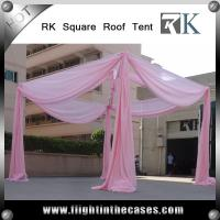 Quality aluminum pipe and drape wedding decoration used pipe and drape for sale for sale