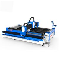 Buy cheap Metal High Power Laser Cutting Machine , Fiber Laser Equipment 0.003mm Accuracy from wholesalers