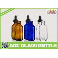 Wholesale 50ml Dropper Bottle,Boston Round Glass Dropper Bottles from china suppliers