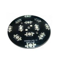 Wholesale Aluminum 0.8mm single sided pcb board with OSP ROHS finishing sloder mask black from china suppliers