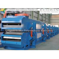 Wholesale Double Paper Surface Sandwich Panel Making Machine 1200mm Width PU Injection from china suppliers