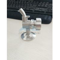 Buy cheap Manual Aseptic Sample Valve Food Grade Stainless Steel Sanitary Wine Sample from wholesalers