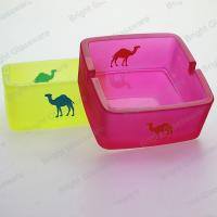 Wholesale Hot sale colorful camel glass ashtray for wholesale from china suppliers