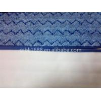 Wholesale Blue Wave Twisted   13*51 Microfiber Wet  Mop Pad 80% Polyester 20% Polyamide from china suppliers