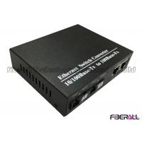 Wholesale Cascading 10/100Base-Tx Bi-Di Fiber Media Converter Fiber Ethernet Switch Converter from china suppliers