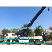 Wholesale Tow Truck Wrecker Howo Obstacle Tractor Truck 20 Ton Liftting Capacity from china suppliers