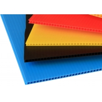 Wholesale Coroplast PP Hollow Sheet Corrugated Plastic Panels Flame Retardant from china suppliers
