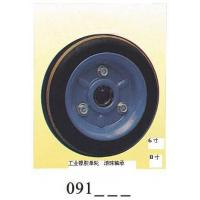 Buy cheap Industrial black rubber single wheel 091 from wholesalers