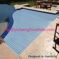 Quality Automation Swimming Pool Control System Inground Type Pool Covers With Polycarbonate Mat for sale