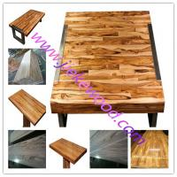 Buy cheap sell   zebrano  table top from wholesalers