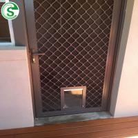 China Guangzhou Factory Modern Aluminum Mesh Screen Window Security Grill Amplimesh on sale