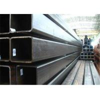 Wholesale Construction Structural Materials ERW Welded Steel Pipe , Galvanized Rectangular Tubing from china suppliers