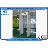 Wholesale Fireproof  24 Zone Foldable Walkthrough Metal Detector Door Frame High Sensitivity from china suppliers