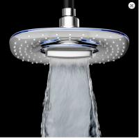 Wholesale High Pressure Rainfull Overhead Rain Shower Head Silver Wall Mounted from china suppliers
