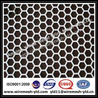 Wholesale Aluminum hexagonal perforated metal from china suppliers