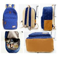 Wholesale Women Canvas School Bag Girl Backpack Travel Rucksack Shoulder Bag from china suppliers
