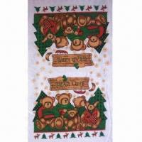 Wholesale Printed Cotton Kitchen Towel, Available in Various Designs and Colors from china suppliers
