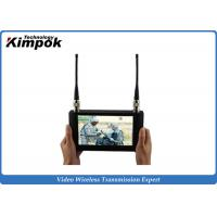 Wholesale Touch Screen HD Wireless Video Receiver 7 Inch LCD Monitor For COFDM Transmitter from china suppliers