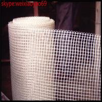 Wholesale fiberglass mesh / Alkali resistant fiberglass mesh/160g 4x4mm Waterproof fiberglass mesh /fiberglass scrim mesh for wall from china suppliers