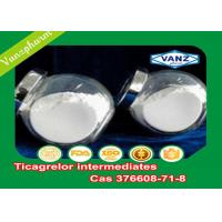 Wholesale Ticagrelor Intermediates CAS 376608-71-8 White Powder Anticoagulant Drugs from china suppliers
