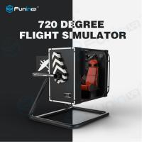 Wholesale 500 inch Screen VR Flight Simulator With Full Digital Servo System Easy Operation from china suppliers