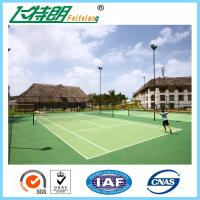 Wholesale Polyurethaning Floors Rubberized Flooring Synthetic Sports Surfaces Tennis Court Painting from china suppliers