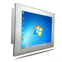Wholesale High Performance Front Industrial Panel PC Windows XP IP65 10 Inch from china suppliers