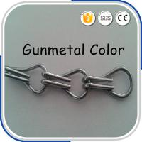 Quality 2.0 MM Thickness Fashion 12mm Double Hooks  Aluminium Chains for sale