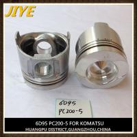 Buy cheap cummins komatsu excavator engine parts pc200-6 S6D95LE-1 piston 6209-31-2180 from wholesalers