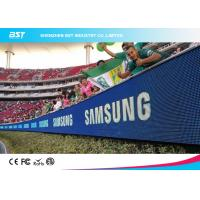 Wholesale High Performance Soccer Advertising Boards , Perimeter Advertising Led Display from china suppliers