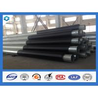 Wholesale Q420 5mm Thick 60Ft 70Ft Hot Dip Galvanized Electric Power Steel Poles from china suppliers