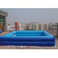Wholesale Extra Large Inflatable Pool / Deep Portable Swimming Pools For Adults from china suppliers