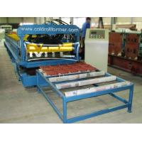 Wholesale Glazed Roofing Tile Forming Machine CE Approved from china suppliers