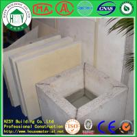 Quality HZSY soundproof waterproof eps cement wall panel for washing room partition for sale