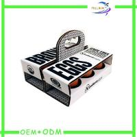 Wholesale Egg Corrugated Paper Box , Strong Food cardboard presentation boxes from china suppliers