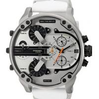 Wholesale Wholesale DIESEL DZ7401 MR DADDY 2.0 White Multiple Time Zone Chronograph Mens Watch from china suppliers