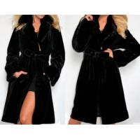 Wholesale Fashionable Design Long Style Coat Black Coat for Winter or Autumn from china suppliers